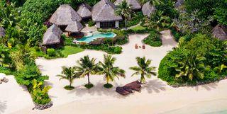 Laucala plantation villa aerial