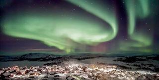 Swedish Lapland northern lights