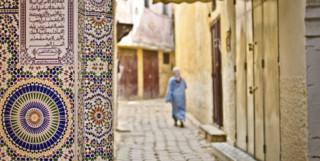 Lady in Meknes