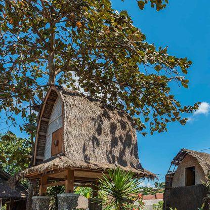 Sasak house in Lombok