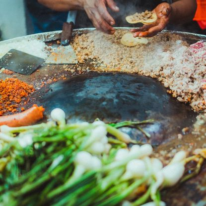 Street food tasting in Mexico City