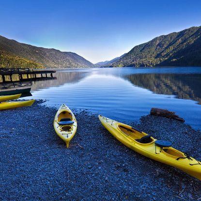 Olympic National Park kayaking