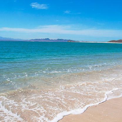 Isla Espirito Santo beach