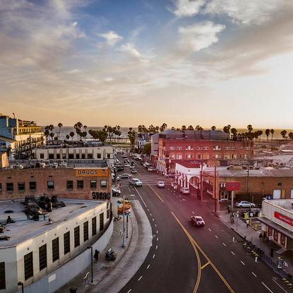 Venice boulevard, LA