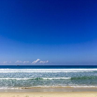 Joaquina Beach in Florianopolis