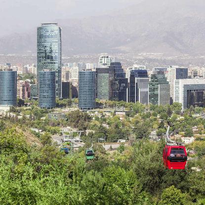 Santiago Aerial View