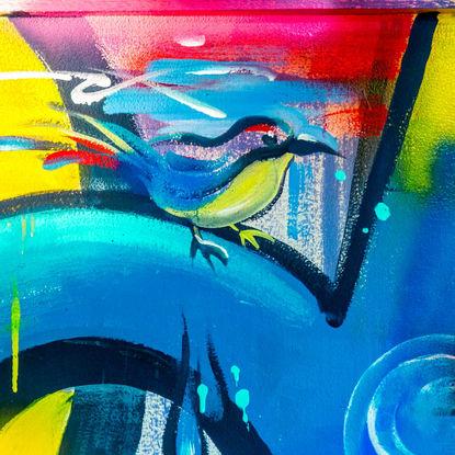 Graffiti Bird