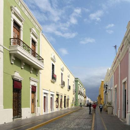 Street in Campeche