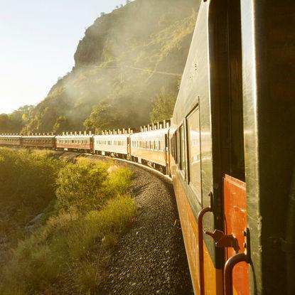 Scenic Train Ride in the Copper Canyon