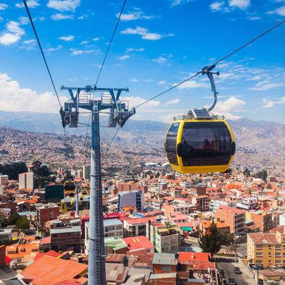 Mi Teleferico Cable Car in La Paz