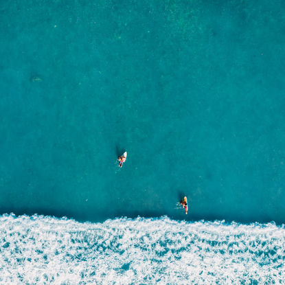 Surfers from Above