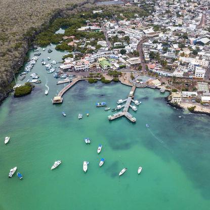 Santa Cruz Aerial View