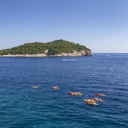 Sea Kayaking near the Elaphiti Islands