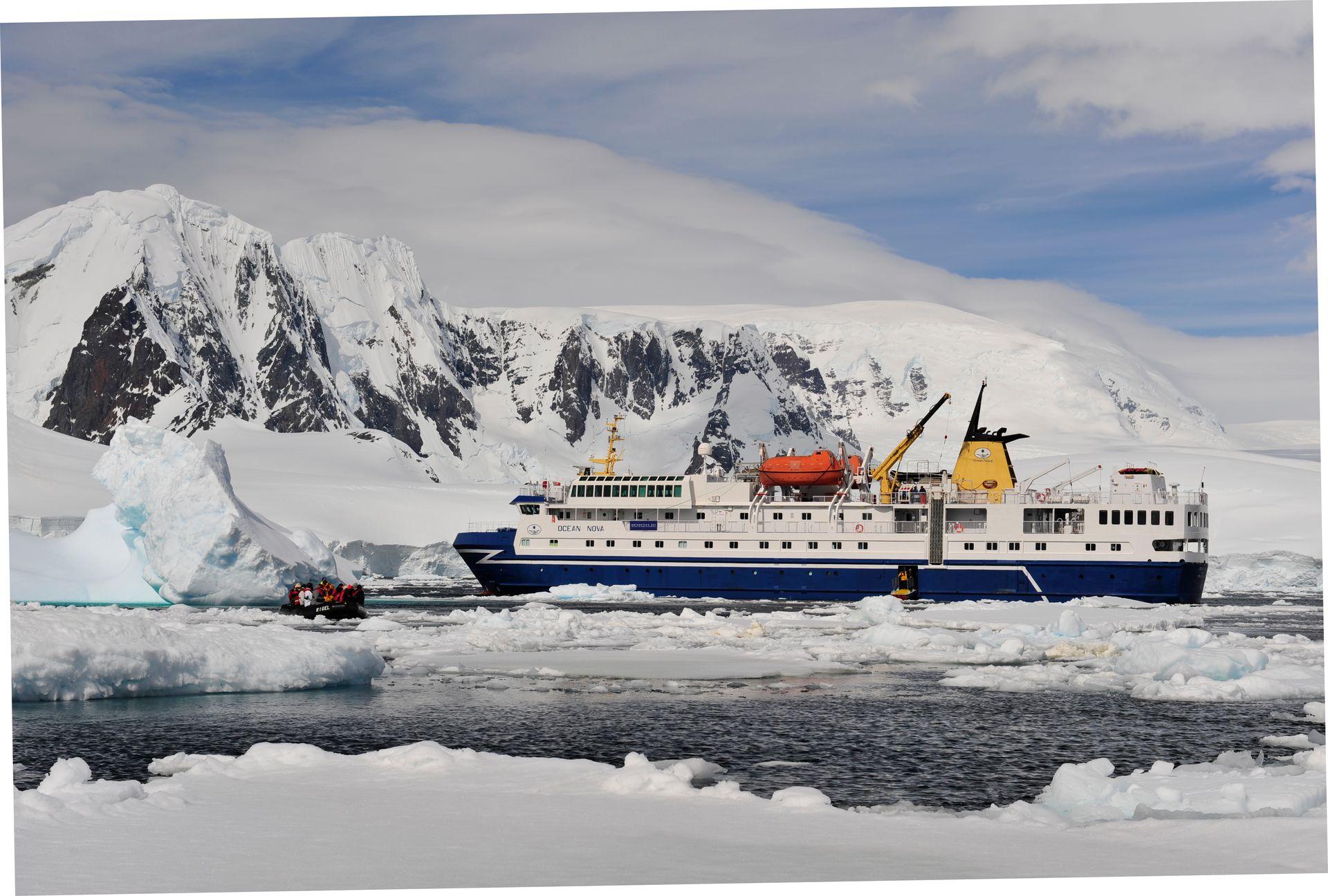 Cute Cruise Ship Quotes Quotesgram: M/V Ocean Nova, Antarctica