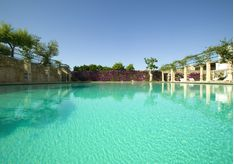 Swimming Pool at Masseria Torre Maizza, luxury hotel in italy