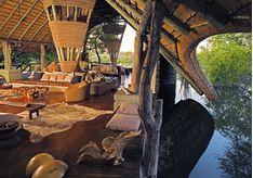 The main lodge at Singita Boulders, luxury safari camp in South Africa