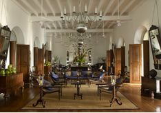 Lounge at Amangalla, luxury hotel in Sri Lanka