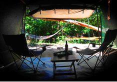 Tent at Leopard Safari Yala Camp, luxury camp in Sri Lanka
