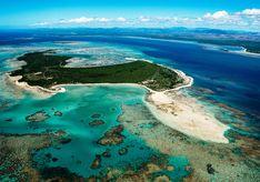 Aerial View of Nosy Ankao - Madagascar