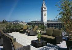 Hotel Vitale balcony