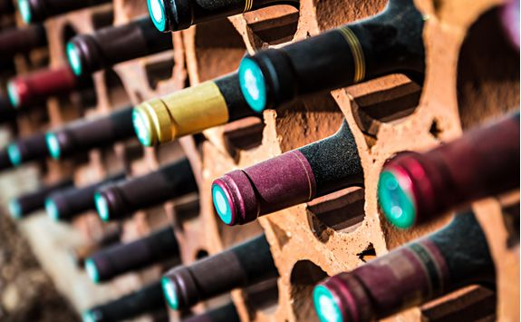 Image of a Wine Rack