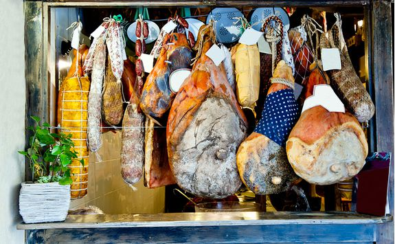 Hanging Meats, Rome