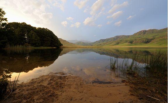 A lake in Spioenkop
