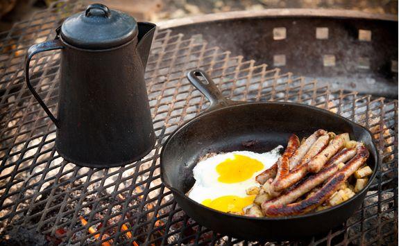 Bush breakfast, South Africa