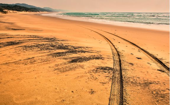 Beach in KwaZulu-Natal
