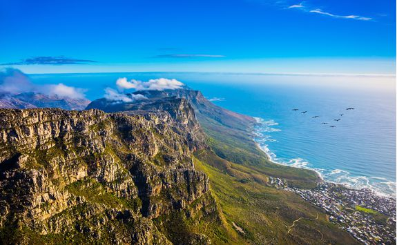 View across Cape Point