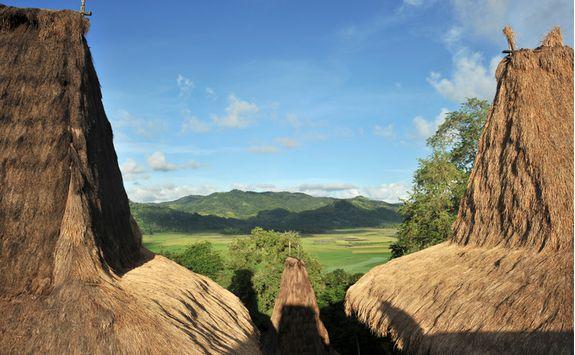 Sumba mountains