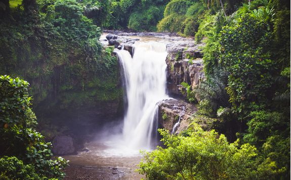ayung river waterfall