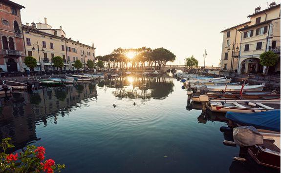 Desenzano del Garda harbour