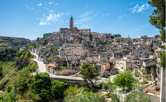 A view of Matera, Puglia