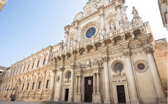 Architecture in Lecce