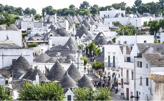 View of Alberobello