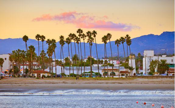 Santa Barbara from Pier