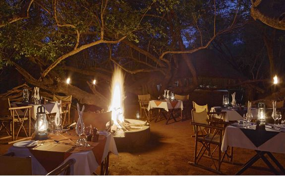 Boma dinner, South Africa