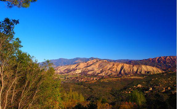 Santa Ynez range
