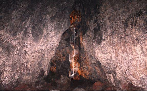 Inside an Icelandic Cave