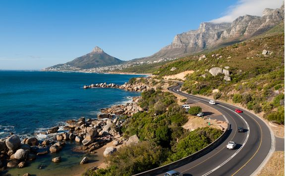 Garden Route coastal road