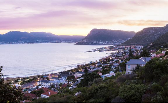 Kalk Bay views at sunset