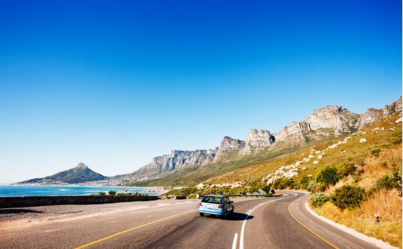 Cape Town coastal road