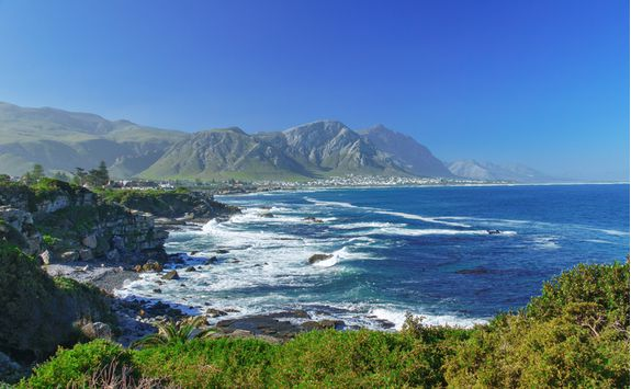 The cliffs of Hermanus