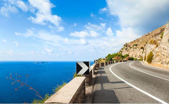 amalfi road