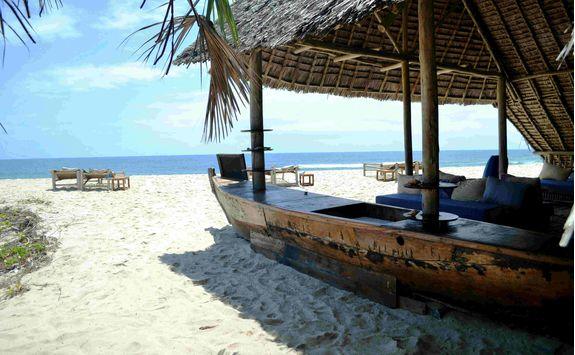 beach bar, Ras Kutani Hotel