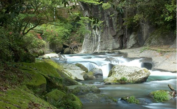 Kirishima-Yaku National Park river