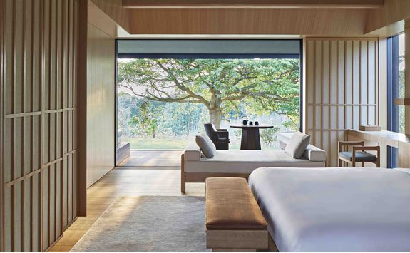 Room interior at Amanemu