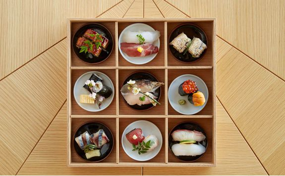 Lunch box at The Restaurant at Amanemu