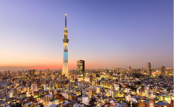 Skytree Tower in Tokyo